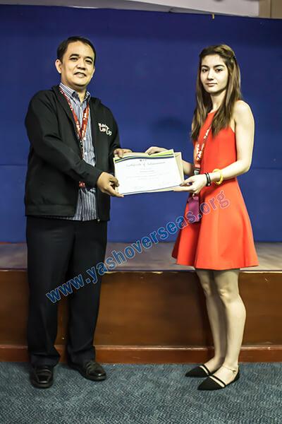 Ama University Scholarship Student