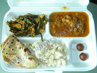 Ama university full Food dish arrangment