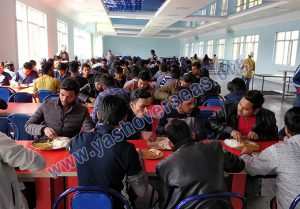 Asian Medical Institute canteen