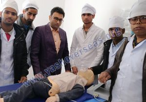 Asian Medical Institute demo for student