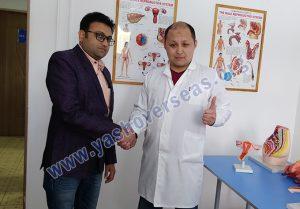 Asian Medical Institute doctor with vikram lahotiya