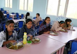 Asian Medical Institute food in canteen