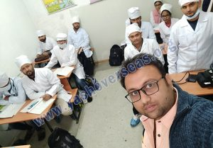 Asian Medical Institute selfies