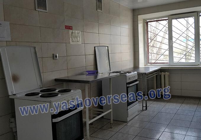 Bogomolets National Medical University laundry area