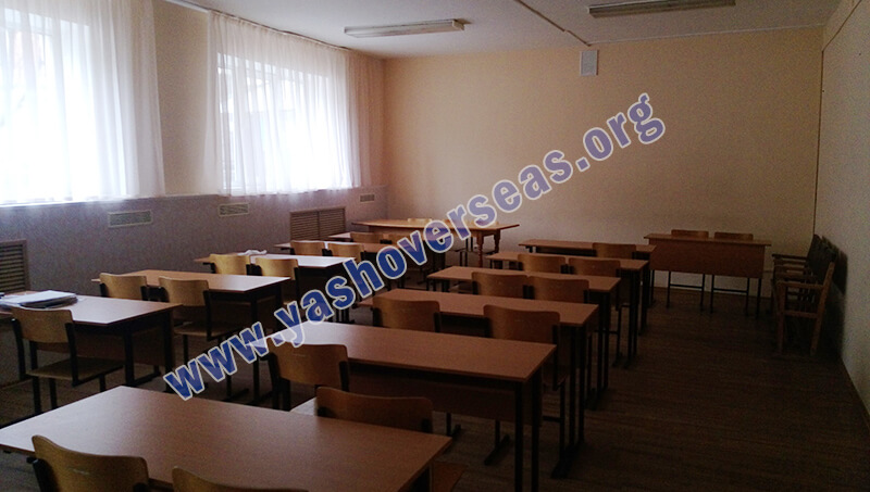 Chuvash State University Medical Academy canteen sitting facility