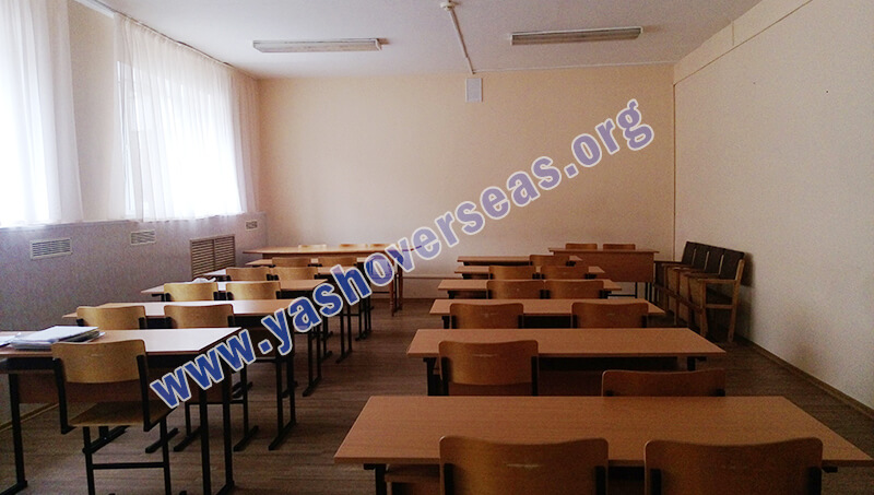Chuvash State University Medical Academy canteen sitting view