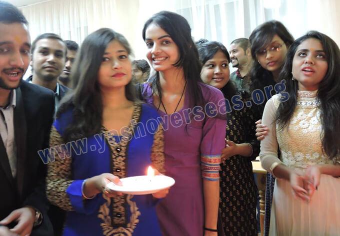 Chuvash State University Medical Academy festival celebration