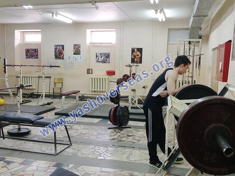 Chuvash State University Medical Academy fitness center