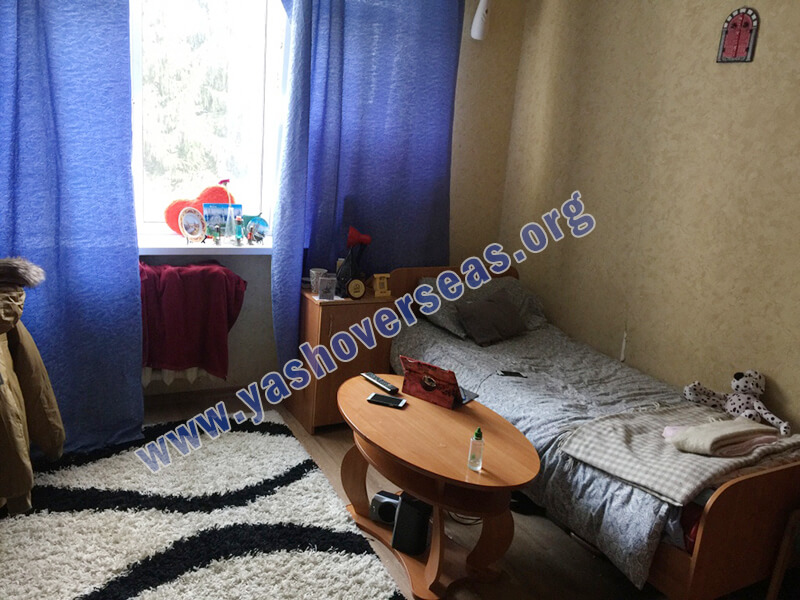 Chuvash State University Medical Academy hostel room