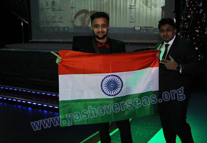 Chuvash State University Medical Academy indian independent day celebration