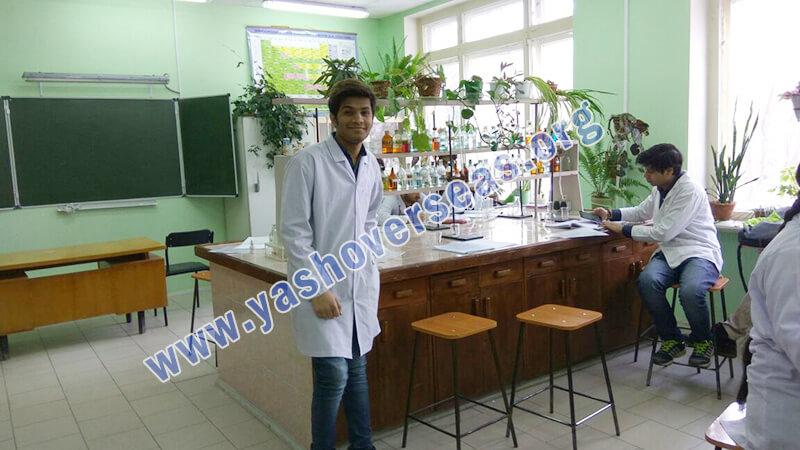 Chuvash State University Medical Academy lab