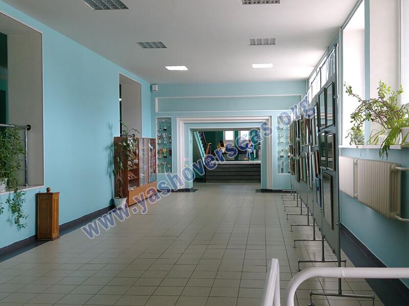 Chuvash State University Medical Academy lobby