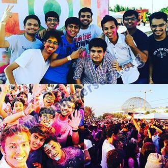 Fatima University Holi Celebration photoes