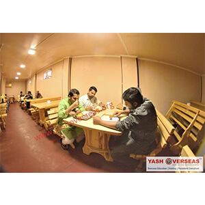 Jalalabad State Medical University canteen room