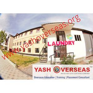 Jalalabad State Medical University laundry room