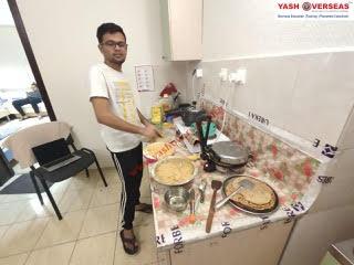 Kazan Federal University kitchen