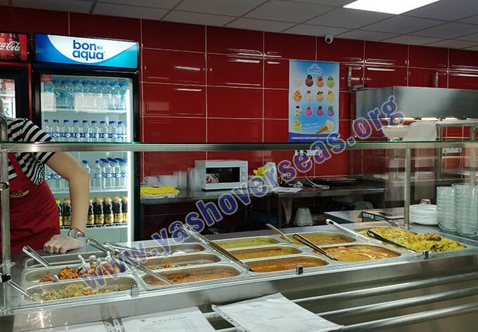 Kharkiv National Medical University canteen food