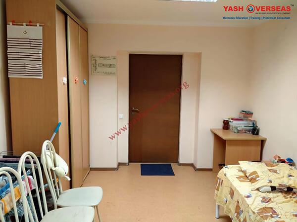 Kuban State Medical University hostel room