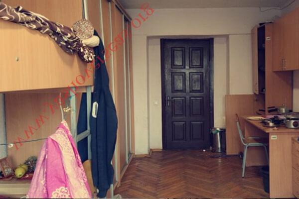 Kyiv Medical University hostel room