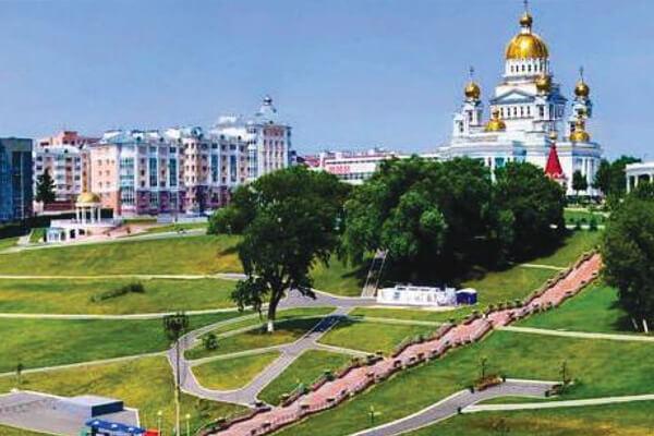 Mordovia State University area