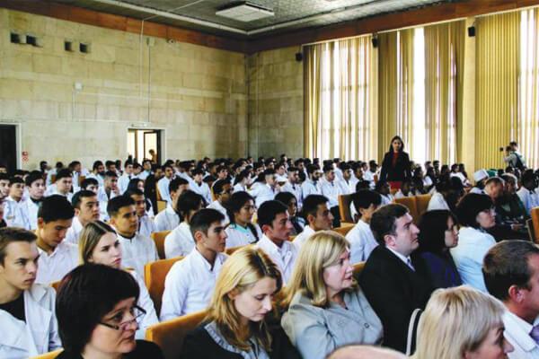 Mordovia State University classroom