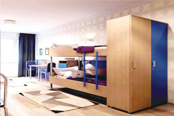 Mordovia State University hostel room