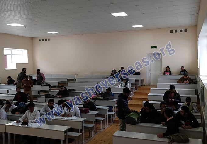 OSH State University classroom view