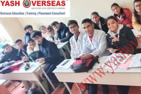 OSH State University classroom with students