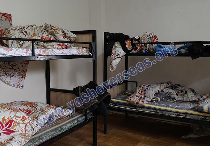 OSH State University hostel beds