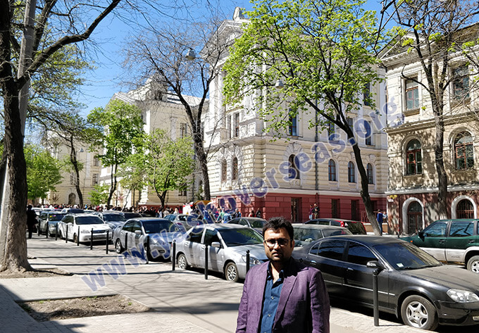 Odesa National Medical University cbuilding