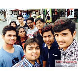University of perpetual help system Group students selfie