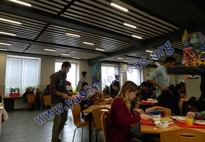 V.N Karazin kharkiv National University food court