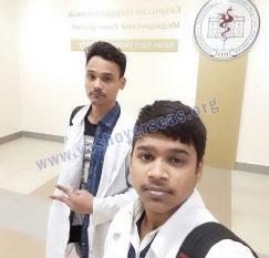 kazan state university student selfie